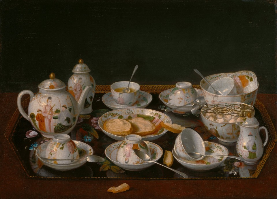 Set per il tea  (Jean-Etienne Liotard)