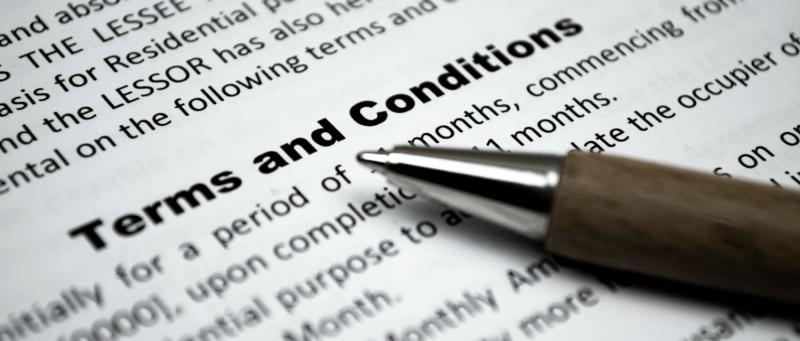 Termini e condizioni
