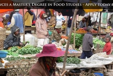 M.A. Program in Food Studies